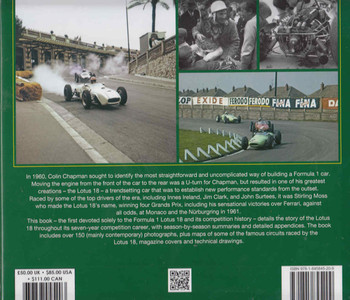 Lotus 18: Colin Chapman's U-turn (9781845845209) (back