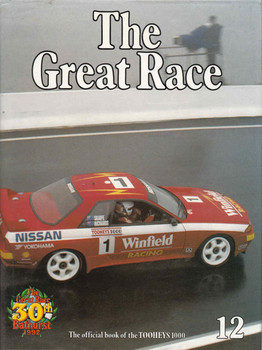 The Great Race Number 12 The Official Book Of the 1992/1993 Tooheys 1000 (9771031612128)  - front