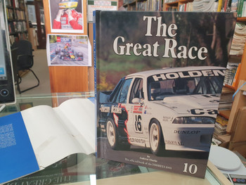 The Great Race Number 10 The Official Book Of the 1990 / 1991 Tooheys 1000