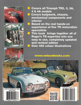 How To Restore Triumph TR2,3,3A 4 & 4A: Enthusiast's Restoration Manual (9781845849474) - back
