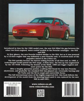 Porsche 944 (Veloce Classic Reprint Series) (9781845849764) - back