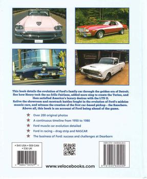Ford Midsize Muscle: Fairlane, Torino & Ranchero V8 Dynamite 1955-1979 (9781845849290) - back