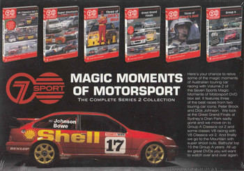 Magic Moments Of Motorsport The Complete Series 2 Collection (9340601001541) - back