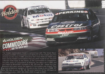 Holden Commodore And The Great Race Gift Set DVD (9340601001824) - back