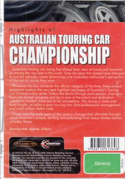Highlights of Australian Touring Car Championship 1997 DVD (9398710613698)