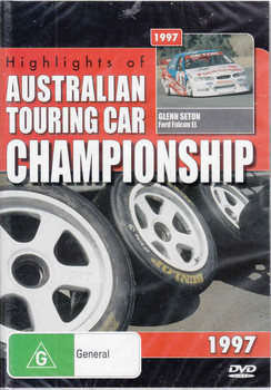 Highlights of Australian Touring Car Championship 1997 DVD (9398710613698) - front