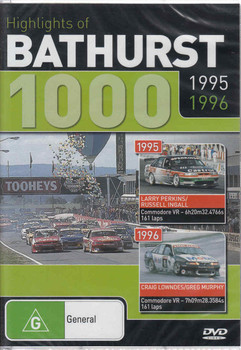 Highlights of Bathurst 1000 1995 1996 DVD (9398710613193) - front