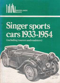 Singer Sports Cars 1933 - 1954 (Including Tourers and Roadsters) Road Tests (b01dm3mzcc)