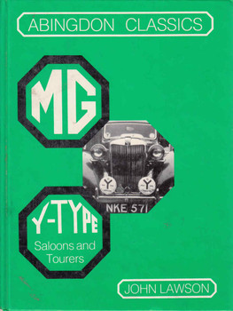MG Y-Type Saloons And Tourers (Abingdon Classics) (9780947981310)