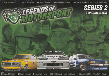 Legends Of Motorsport: Series 2 - 12 Episodes 6 DVD Box Set
