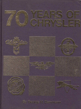 70 Years Of Chrysler (Crestline Series) (9780912612065)