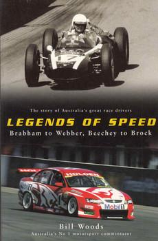 Legend Of Speed: Brabham To Webber, Beechey To Brock (9780732277666) - front