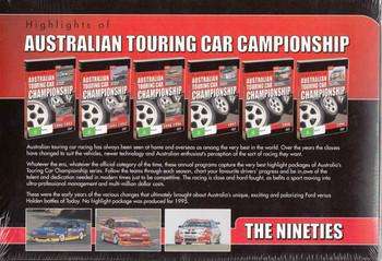 Highlights Of Australian Touring Car Championship - The Nineties Gift Set (9340601001862) - back