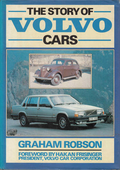 The Story Of Volvo Cars (Graham Robson) (9780850595918)