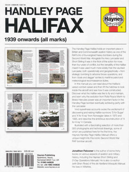 Handley Page Halifax 1939 Onwards (All Marks) Owners' Workshop Manual (9781785210679)