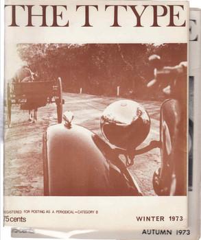 The T-Type (Autumn / Winter 1973) Magazines (2 books t type)