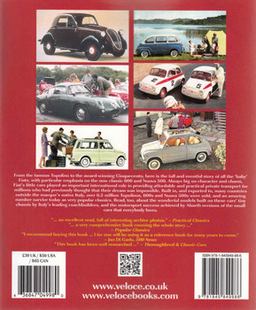 Fiat & Abarth 500 600 (Veloce Classic Reprint Series) (9781845849986) back