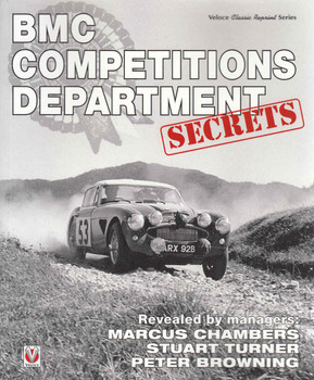 BMC Competitions Department Secrets (Veloce Classic Reprint Series) (9781845849948) front