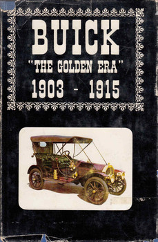 "Buick ""The Golden Era"" 1903 - 1915 Volume 1 (9780912346007)"
