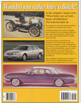 Standard Catalog Of Buick 1903 - 2000 (Second Edition) (9780873415767 - back