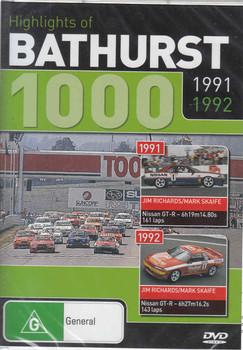 Highlights of Bathurst 1000 1991 1992 DVD