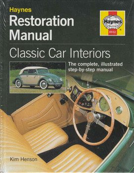 Classic Car Interiors Haynes Restoration Manual (9781850109327)