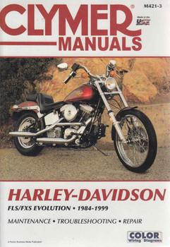 Harley-Davidson FLS / CXS Evolution 1984 - 1999 Workshop Manual