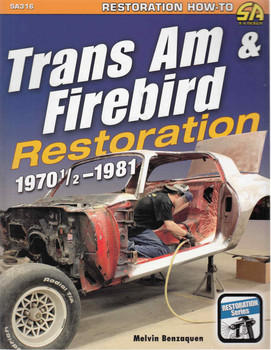 Trans Am & Firebird Restoration 1970 1/2 - 1981 (9781613251720) - front