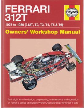 Ferrari 312T 1975 To 1980 (312T, T2, T3, T4, T5 & T6) Owners' Workshop Manual (9780857338112) - front