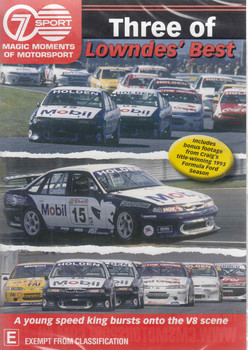 Magic Moments Of Motorsport : Three Of Loundes' Best DVD (9340601001701)  - front
