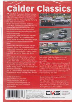 Magic Moments Of Motorsport : Clader Classics DVD (9340601001756) - back
