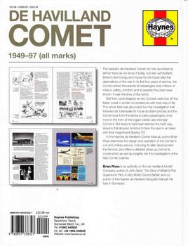 De Havilland Comet 1949 - 97 (All Marks) Owners' Workshop Manual (9780857338327) - back