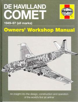 De Havilland Comet 1949 - 97 (All Marks) Owners' Workshop Manual (9780857338327) - front
