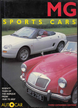 MG Sports Cars (Autocar - Third Expanded Edition) (9781870979887)
