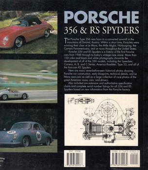 Porsche 356 & RS Spyders (Paperback) (9780760309032) - back