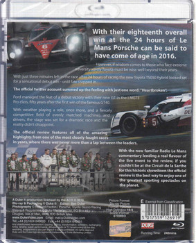 Le Mans 2016 The Official Review Blu-ray