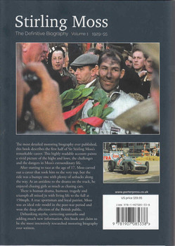 Stirling Moss The Definitive Biography: Volume 1, 1929 - 55 (9781907085338) back