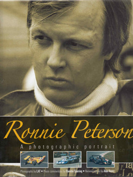 Ronnie Peterson: A Photographic Portrait (9781844255481)  - front