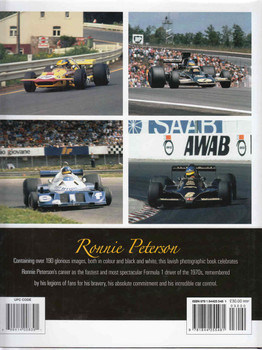 Ronnie Peterson: A Photographic Portrait (9781844255481)  - back