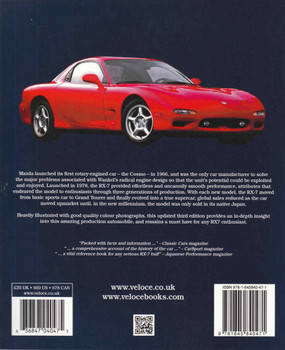 RX-7 Mazda's Rotary Engine Sports Car (Updated & Enlarged 3rd Edition) (9781845840471)  - back