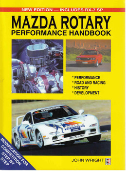 Mazda Rotary Performance Handbook (New Edition-Includes RX-7 SP) (9780947079185)  - front