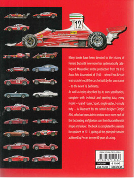 Ferrari All The Cars : A Complete Guide - New Updated Edition (Paperback) (9788879115230) - back