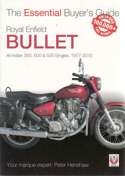 Royal Enfield All Indian 350, 500 & 535 Singles: The Essential Buyer's Guide (9781845849405 - front