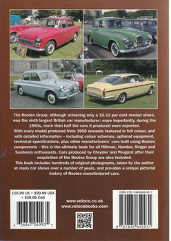 Rootes Cars Of The 1950s, 1960s & 1970s: Hillman, Humber, Sunger, Sunbeam & Talbot - A Pictorial History  - back