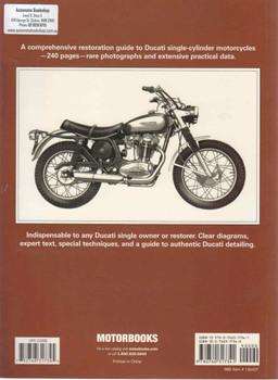 Ducati Singles Restoration (Mick Walker) (9780760317341) - back