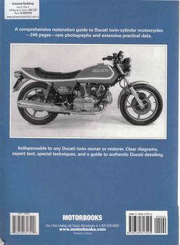 Ducati Twins Restoration (Mick Walker) (9780760317495) - back