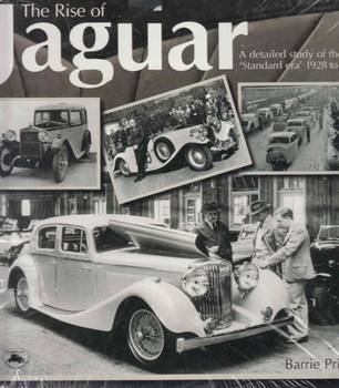 The Rise Of Jaguar : A Detailed Study Of The 'Standard Era' 1928 To 1950 (9781904788270)  - front
