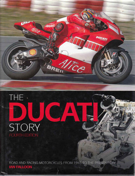 The Ducati Story (Fourth Edition) (9781844253227)  - front