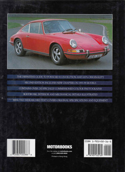 Original Porsche 911 39 The Guide To All Production Models 1963-98 - Updated And Expanded Edition (9781901432169) - back