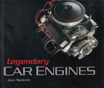 Legendary Car Engines (9780760319413)  - front